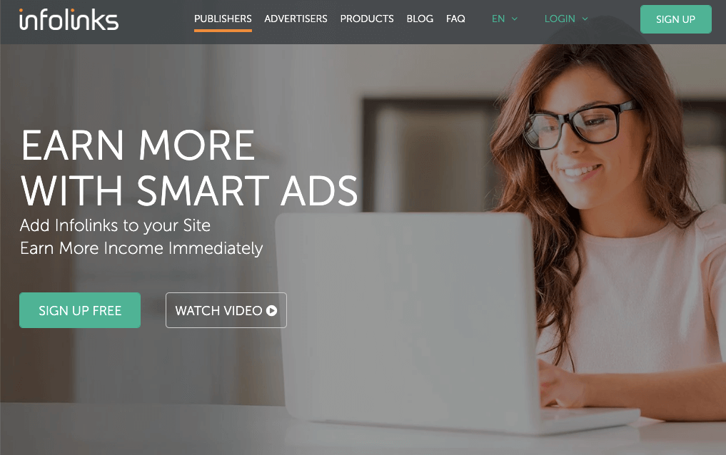 Infolinks Review - Monetisation with Smart ads Earn More